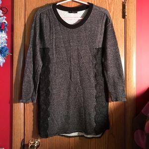 Zara Sweaters - Zara Black with Lace top